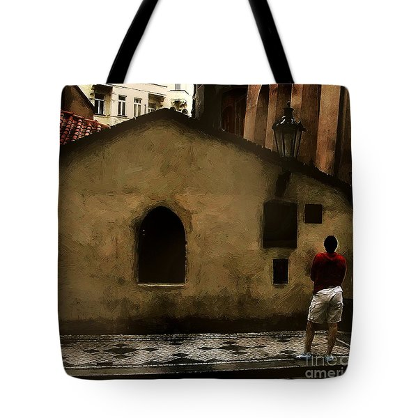 Contemplating Antiquity Tote Bag by RC DeWinter