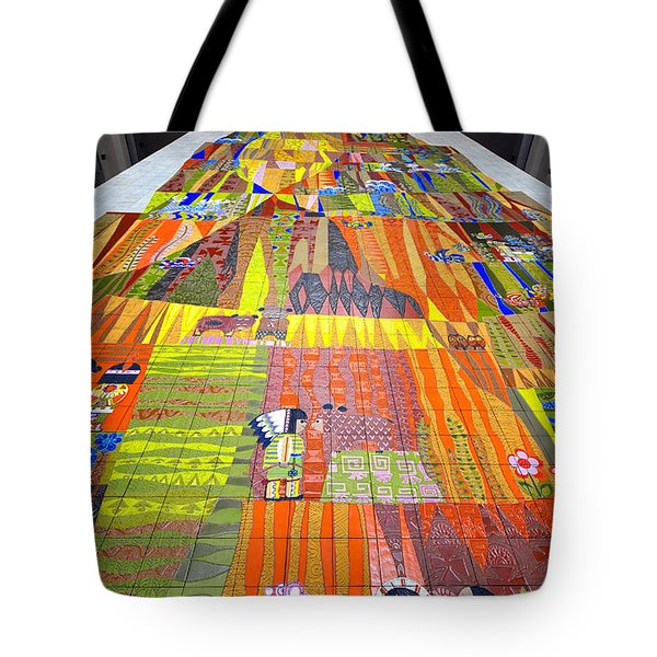 Contemporary Mosaic Tote Bag by David Lee Thompson