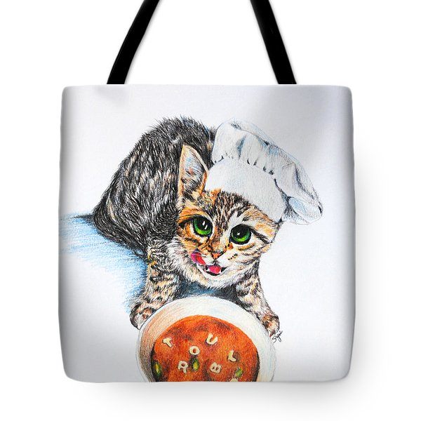 Cookin' Up Trouble Tote Bag by Jai Johnson