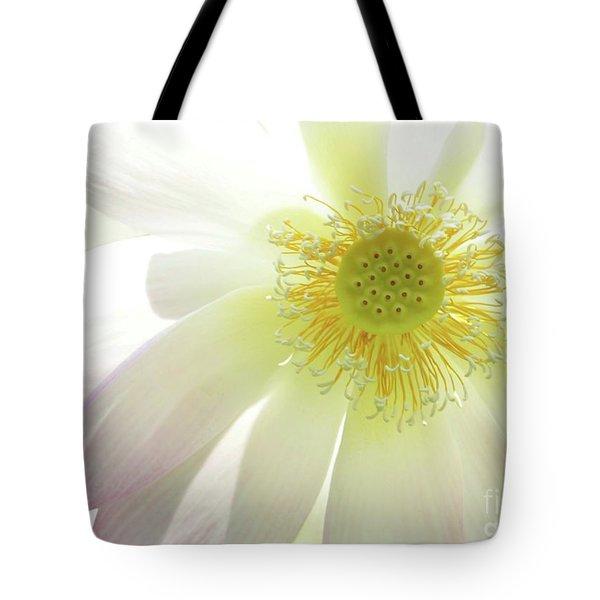 Cool Lotus Tote Bag by Sabrina L Ryan