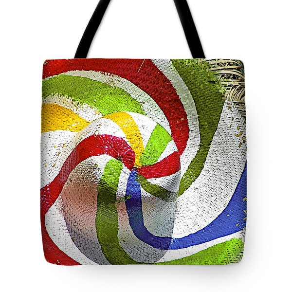 Cool Summer Hat Tote Bag by Christine Till