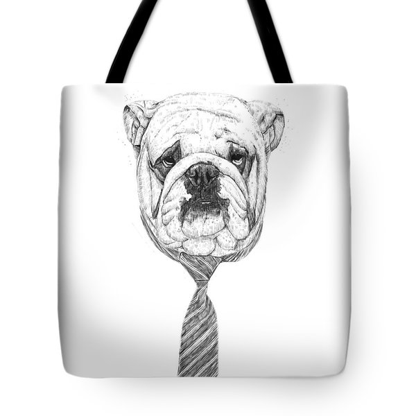 cooldog Tote Bag by Balazs Solti