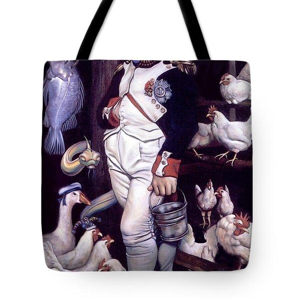 Coop D'etat Tote Bag by Patrick Anthony Pierson
