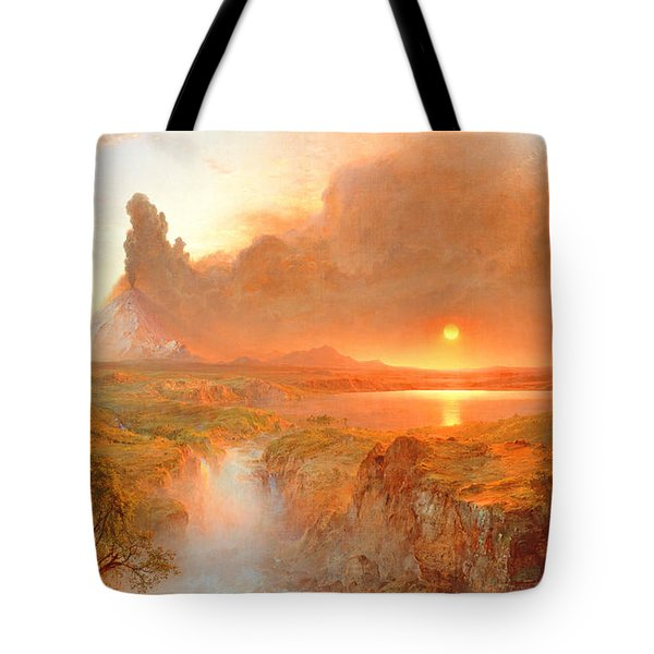 Cotopaxi Tote Bag by Frederic Edwin Church