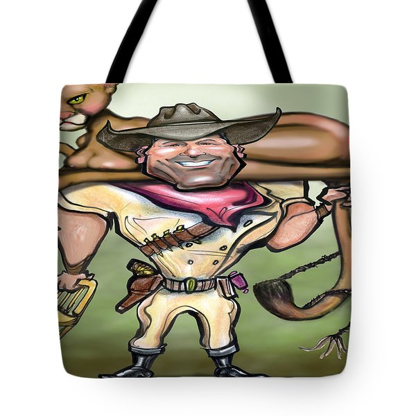 Cougar Trainer Tote Bag by Kevin Middleton