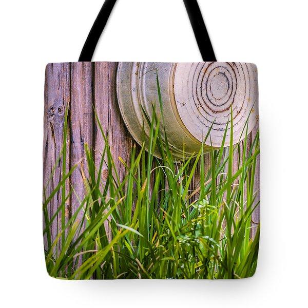 Country Bath Tub Tote Bag by Carolyn Marshall