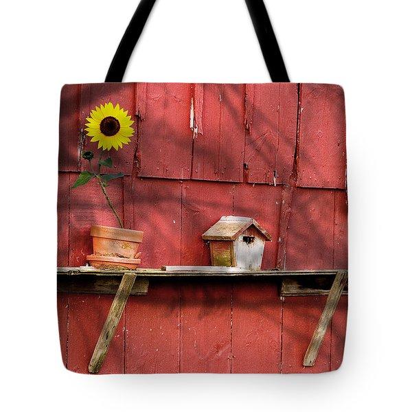 Country Still Life II Tote Bag by Tom Mc Nemar