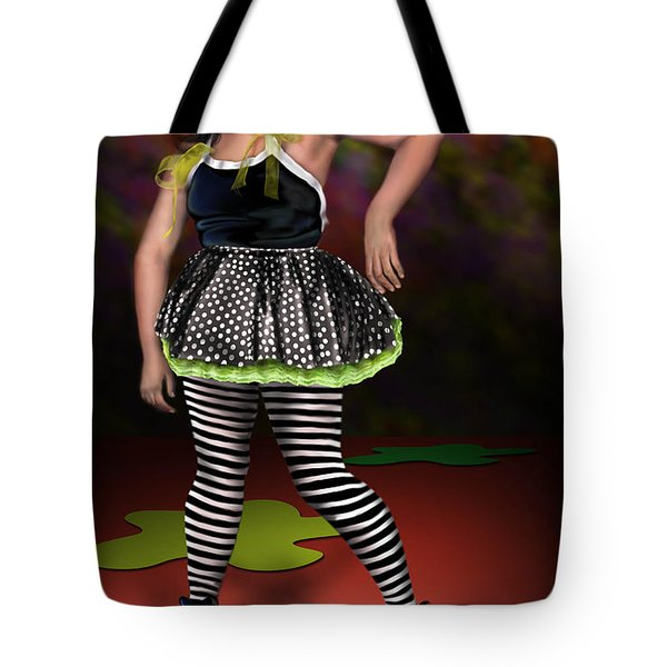 Courtney 1 Tote Bag by Reggie Duffie