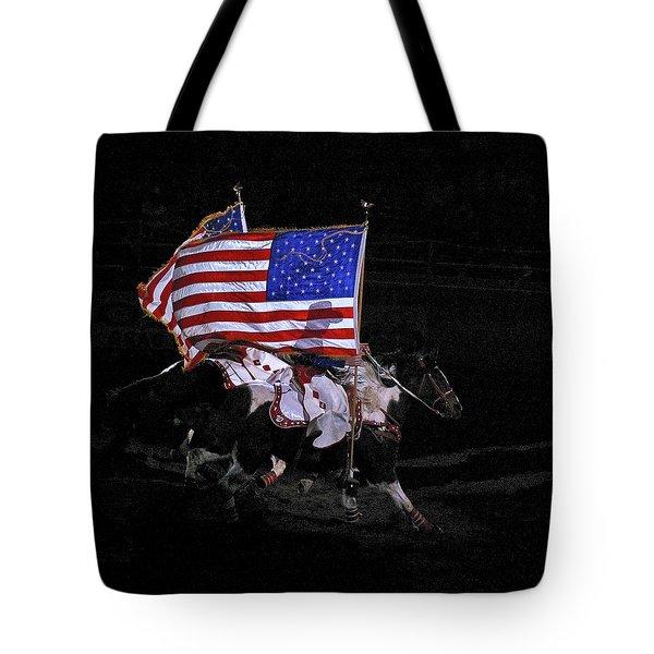 Cowboy Patriots Tote Bag by Ron White
