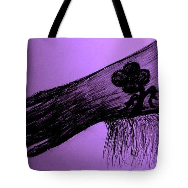 COWGIRL GLOVE PLUM CLASSY Tote Bag by Susan Gahr