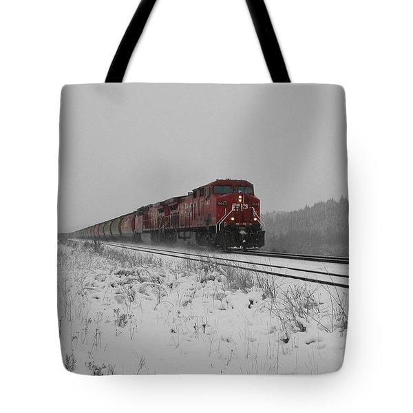 CP Rail 2 Tote Bag by Stuart Turnbull