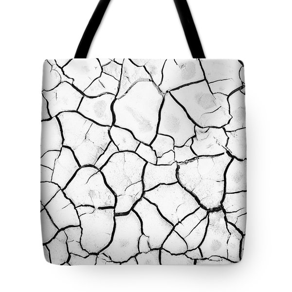 Cracked Mud Tote Bag by Brandon Tabiolo - Printscapes