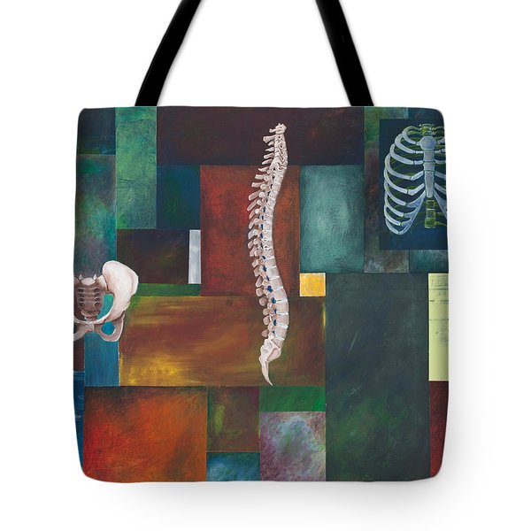 Cradle Column Cage Tote Bag by Sara Young