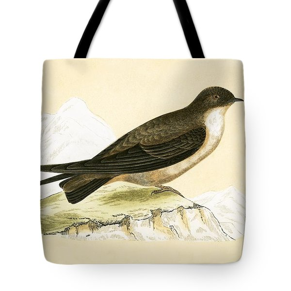 Crag Swallow Tote Bag by English School