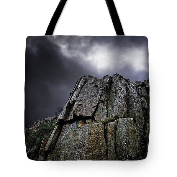 crags Tote Bag by Meirion Matthias
