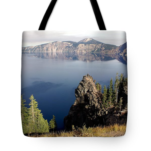 Crater Lake 7 Tote Bag by Marty Koch