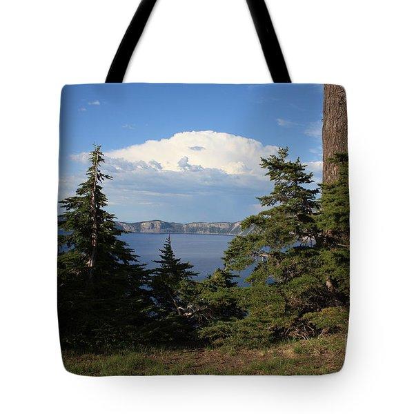Crater Lake 8 Tote Bag by Carol Groenen