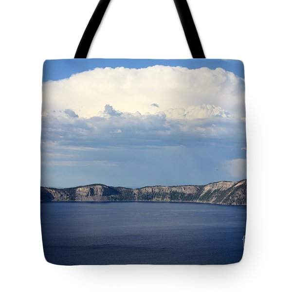 Crater Lake Tote Bag by Carol Groenen