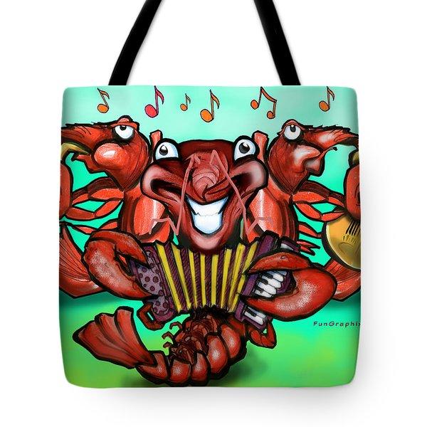 Crawfish Band Tote Bag by Kevin Middleton