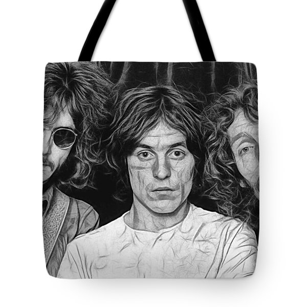 Cream Eric Clapton Collection Tote Bag by Marvin Blaine
