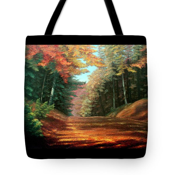 Cressman's Woods Tote Bag by Otto Werner