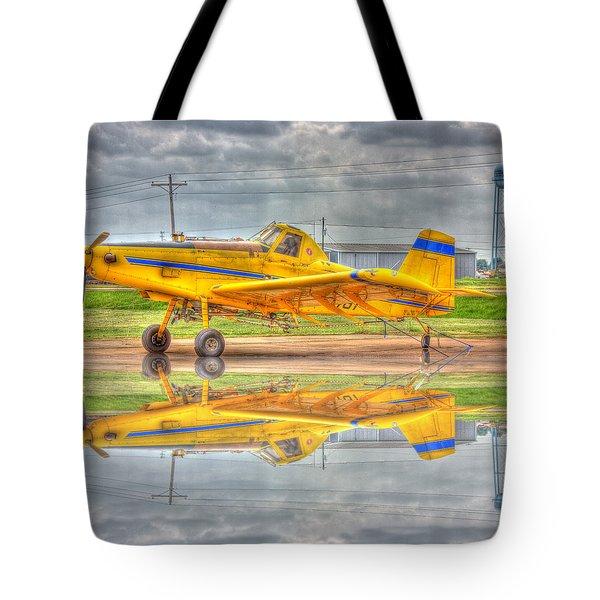 Crop Duster 002 Tote Bag by Barry Jones