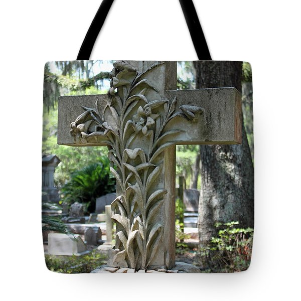 Cross Series IIi Tote Bag by Suzanne Gaff