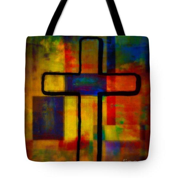 Cross XI Tote Bag by WBK