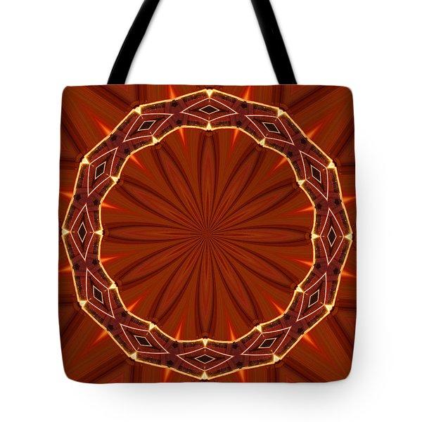 Crown of Thorns Tote Bag by Kristin Elmquist