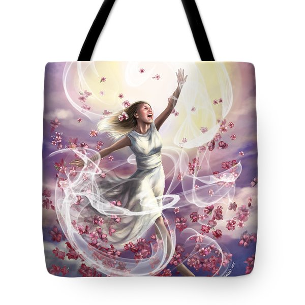 Crowned With Glory... Dancing In Glory Tote Bag by Tamer and Cindy Elsharouni