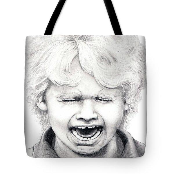 Cry Baby Tote Bag by Murphy Elliott