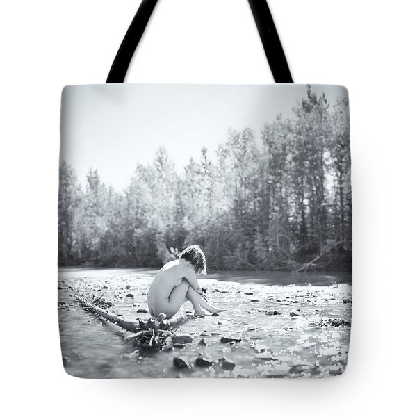Cry Me A River Tote Bag by Ian MacDonald
