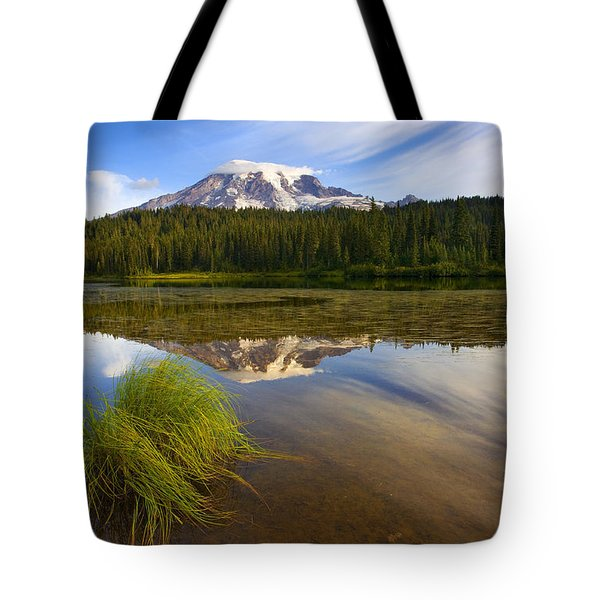 Crystal Clear Tote Bag by Mike  Dawson