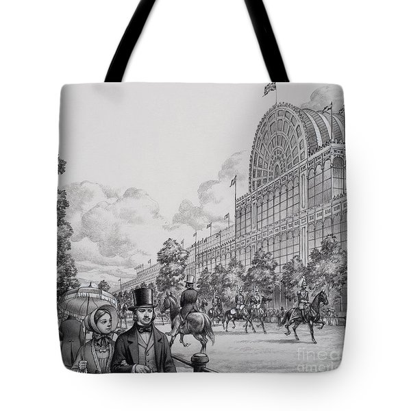 Crystal Palace Tote Bag by Pat Nicolle