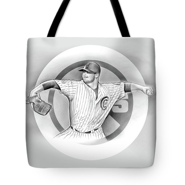 Cubs 2016 Tote Bag by Greg Joens