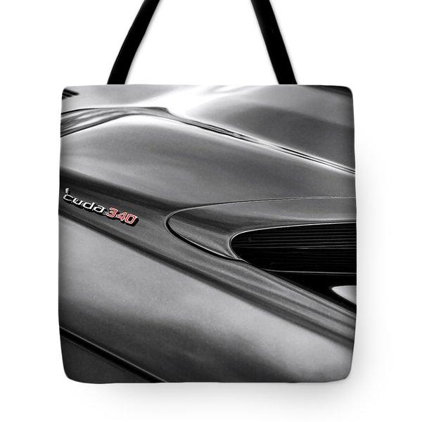 'cuda 340 Tote Bag by Gordon Dean II