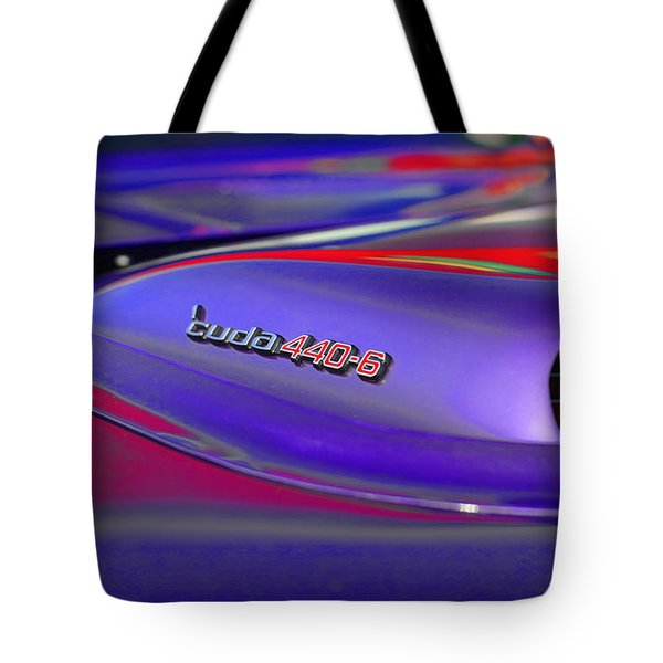 'Cuda 440-6 Tote Bag by Gordon Dean II