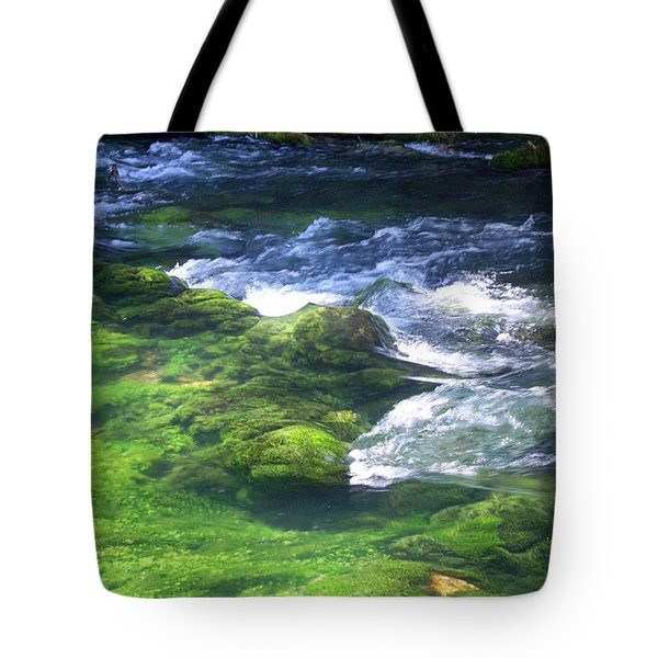 Current River 8 Tote Bag by Marty Koch