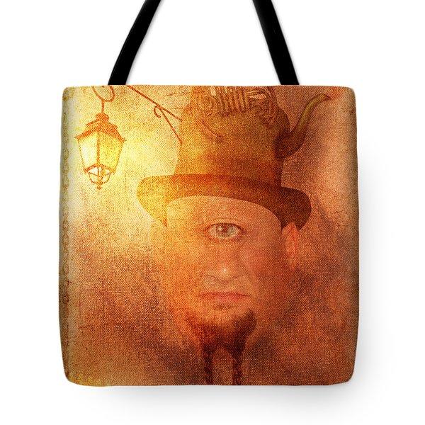 Cyclops Tote Bag by Arvydas Butautas