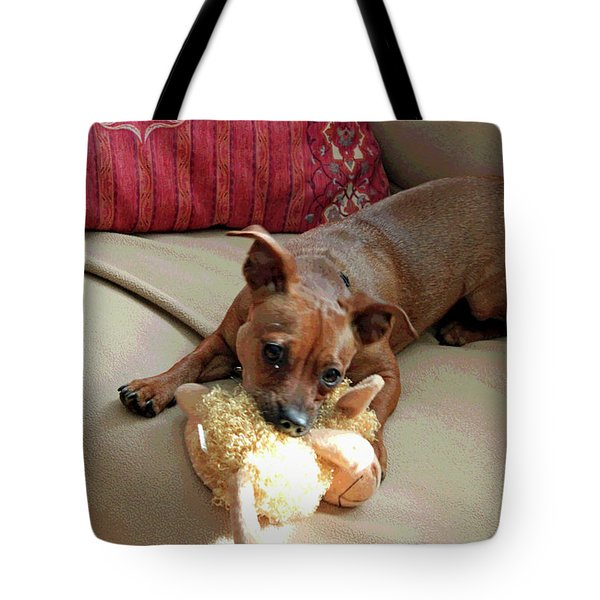 Cyrus The Great Tote Bag by Suzanne Gaff