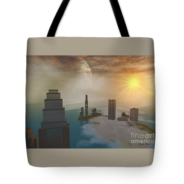 Czar City Tote Bag by Corey Ford