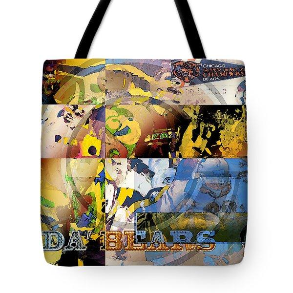 Da Bears V3 Tote Bag by Jimi Bush
