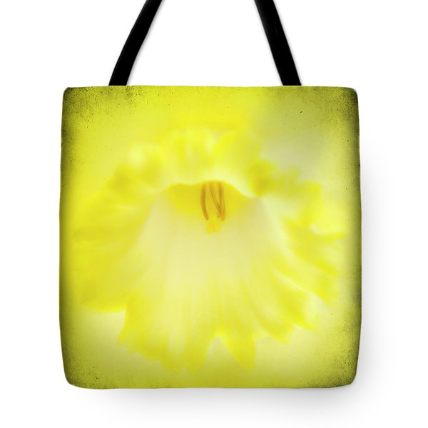 Daffodils Are Yellow Tote Bag by Meirion Matthias