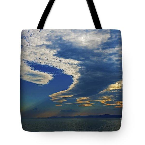 Daily Gratitude... Tote Bag by Nina Stavlund