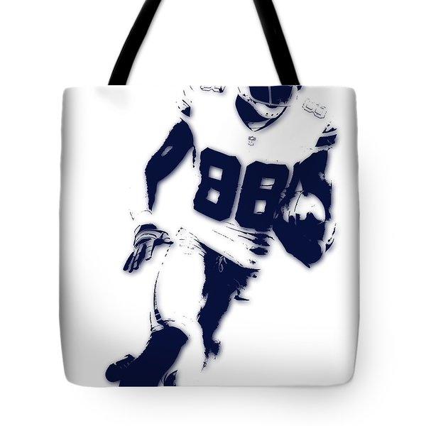 Dallas Cowboys Dez Bryant Tote Bag by Joe Hamilton