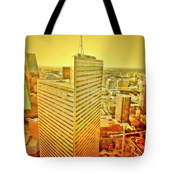 Dallas Gold Tote Bag by Douglas Barnard