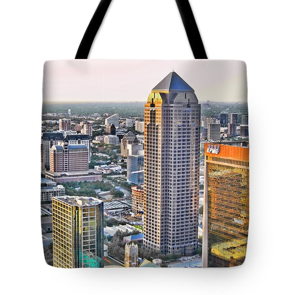 Dallas Hdr Tote Bag by Douglas Barnard
