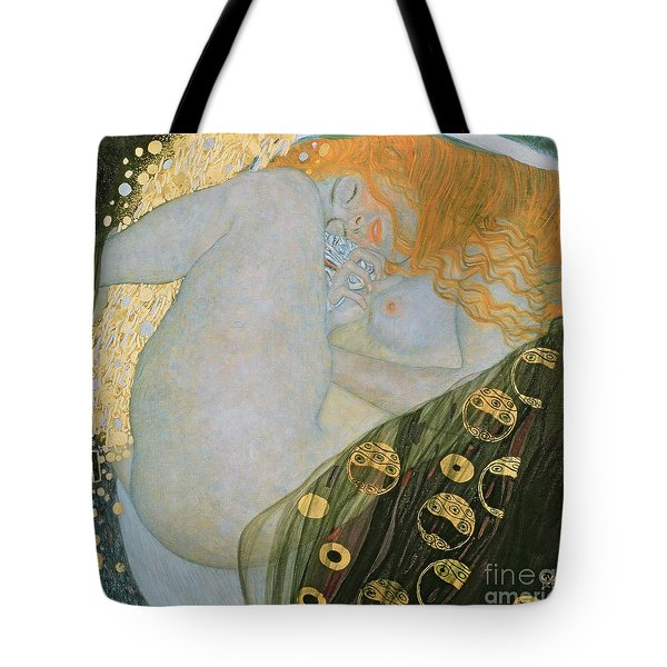 Danae Tote Bag by Gustav Klimt