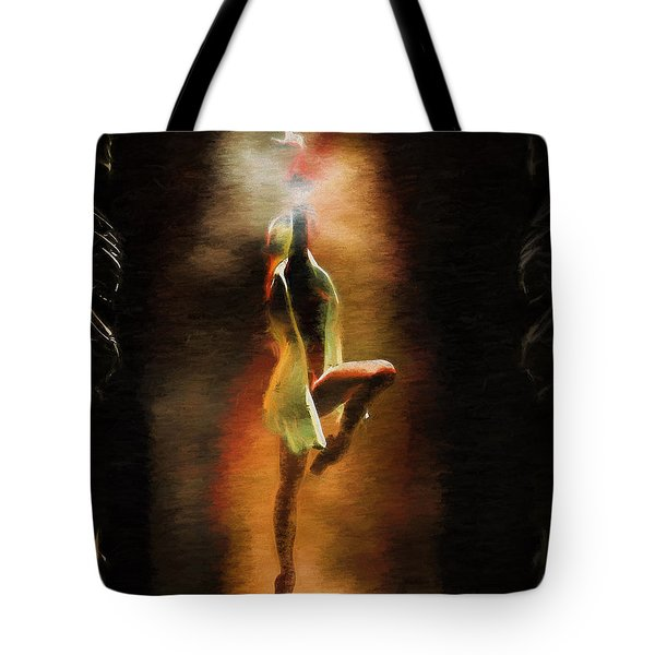 Dance Macabre Tote Bag by Bob Orsillo