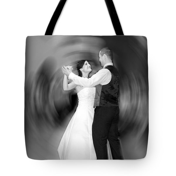 Dance Of Love Tote Bag by Daniel Csoka